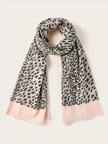 Weier. Ben Leopard Patroon Sjaal