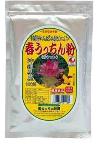 【春ウコン】 春うっちん粉 アルミ袋入 100g入×3P 高品質なウコンを使用 クルクミンや精油成分豊富 飲みやすい粉末タイプ