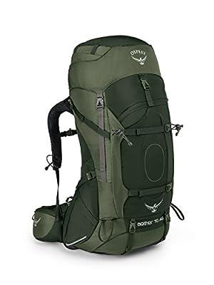 Osprey Packs Aether Ag 70 Backpacking Pack, Adriondack Green, Medium