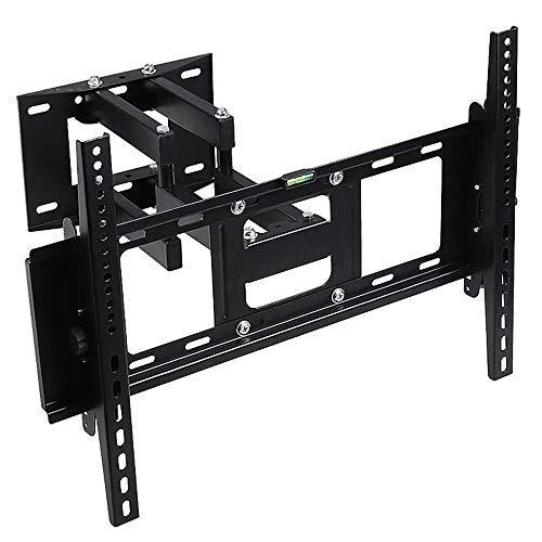 TV-Halterung, 32-65-Zoll-TV-Wandhalterung - Flache Wandhalterung für kompatible Bildschirme Kippbare TV-Wandhalterung für LCD-Fernseher mit starkem Gelenkarm Perfekt für die Eckmontage TV-Halterung