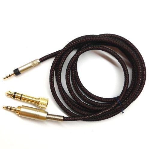 1.5m Wiedereinbau -Audio Upgrade Kabel für Sennheiser HD595 HD598 HD558 HD518 Kopfhörer