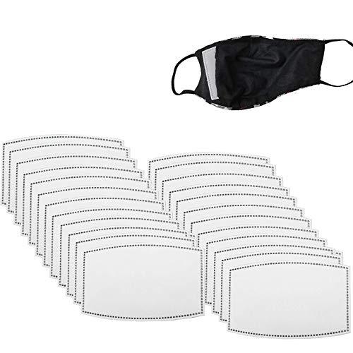 B091HF7H8L Anti-condensfilter, 30 stuks, 50 stuks, 100 stuks met 5 lagen vervangbaar, voor volwassenen, mannen en vrouwen