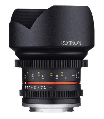 Rokinon Cine cv12m-mft 12mm T2.2Cine Fixed Objektiv für Olympus/Panasonic Micro 4/3Kameras