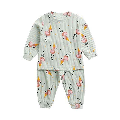 Ropa de verano para bebés y niñas Larga mangas, 2 unidades Mameluco Bebé Recién Nacido Monos para Baby Unisex Body