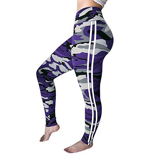 FRAUIT camouflagelegging damesmode vrouwen yoga broek gym running yoga sportbroek meisjes/dames broek sportkleding leggings fitness pak voor yoga, lopen en andere activiteiten
