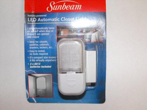 Sunbeam LED Automatic Closet Light