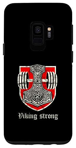 Galaxy S9 Mjölnir Viking Strong Thors Hammer Norse Gym Celtic Case