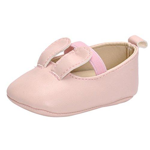 Fenteer Zapatos de Princesa para Niñas Accesorios de Bebés Zapatos Planos de Vestir Caminar - 0-6meses