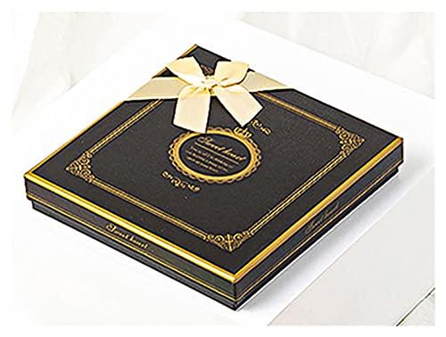 XIZHOUCUN 5 Piezas de Caja de Caramelo de Chocolate, Envuelto con Cinta de Bricolaje DIY Papel de Regalo casero, niños y niñas Día de San Valentín Día de Acción de Gracias Caja de Regalo
