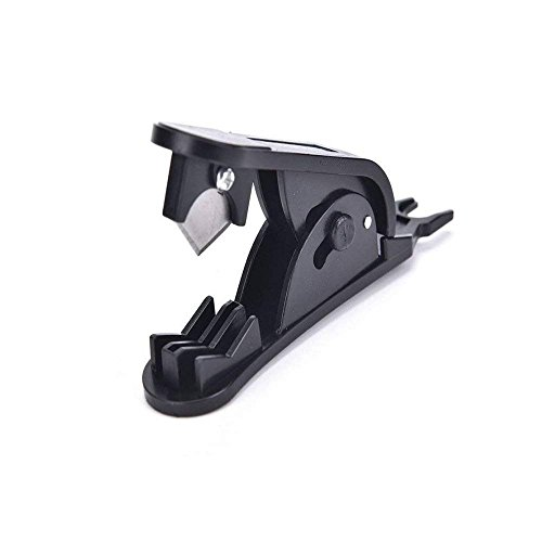 Freshzone Supreme Quality Pipe Cutter for 1/4' 3/8' 1/2' PVC Nylon PU for RO Reverse Osmosis System (Black)