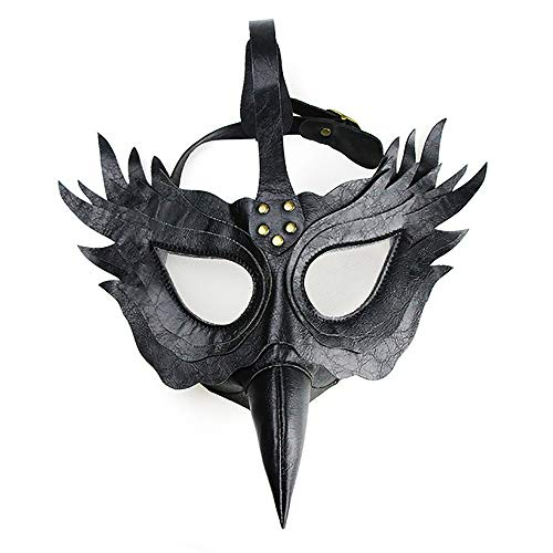 YKKHHCD Steampunk Plague Pico Doctor Máscara, Cyberpunk Role-Playing
