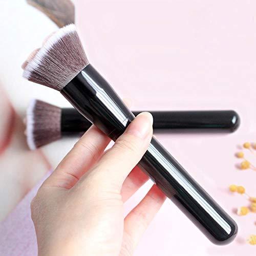 MEISINI Makeup Brush Foundation Brush Long Lasting Concealer Blush Handle Tool Makeup Brushes, Black