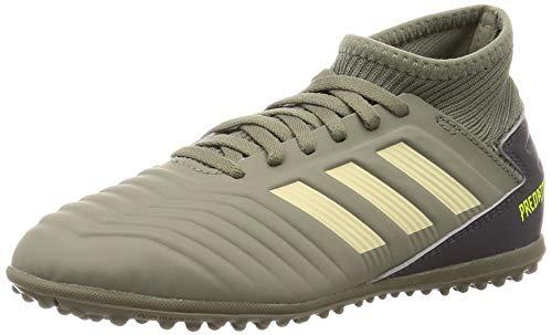 adidas Jungen Predator 19.3 Tf J Fußballschuhe, Verleg/Arena/Amasol, 34 EU