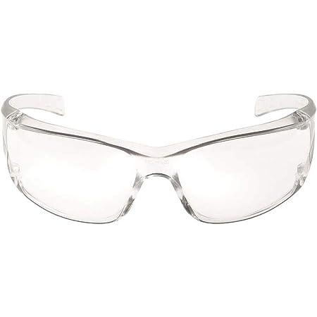 3M Virtua Occhiali di protezione con lenti trasparenti, antigraffio, 71500-00001
