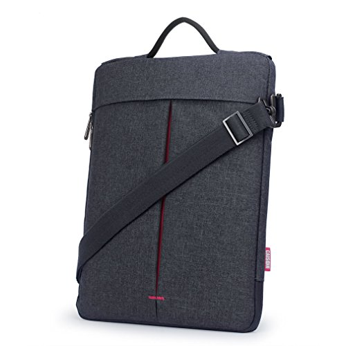 CAISON Notebooktasche Umhängetasche für 2018 Neu 13 Zoll MacBook Air/MacBook Pro 13/13.5 Zoll Microsoft Surface Laptop 2 / Razer Blade Stealth 13/13,3 Zoll HP Envy x360 13