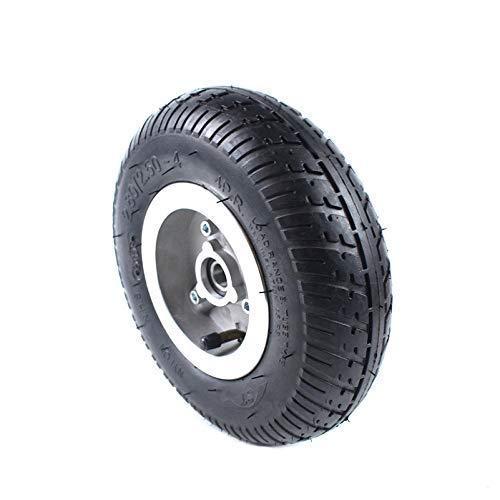 LYTBJ Neumáticos de Scooter eléctrico, 2,80/2,50-4 Scooter más Antiguo Gasolina/Scooter eléctrico Juego de Ruedas de neumático Tipo de chavetero
