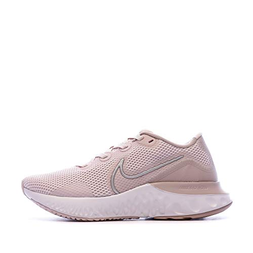 Nike Renew Run, Scarpe da Corsa Donna, Rosado Ligero/Bianco/Malva Piedra/Bronce Rojo Metálico, 38.5 EU