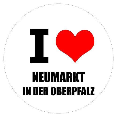 I love Neumarkt in der Oberpfalz in zwei Größen erhältlich Aufkleber mehrfarbig JDM Decal Sticker Racing