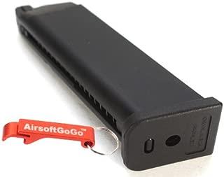 AirsoftGoGo Llavero Incluido WE 45rds Gas Cargador para WE APACHE MP5 MP5K MP5A2 Airsoft GBB