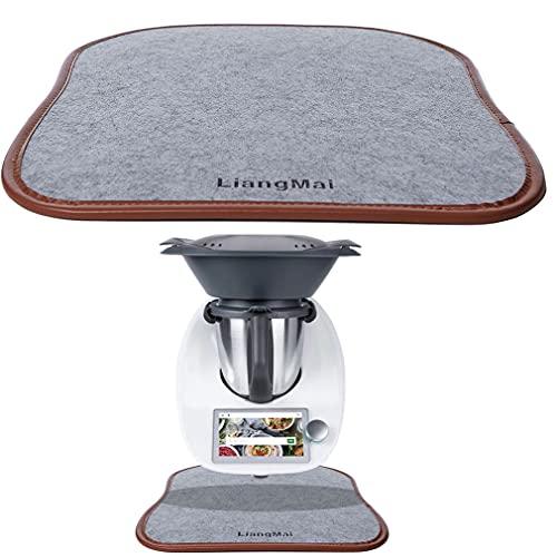 LiangMai Tabla deslizante para Thermomix TM6 TM5 TM31 TM Friend, accesorio para robot de cocina, Slip Pad para mover fácilmente la Thermomix en cualquier encimera de cocina lisa