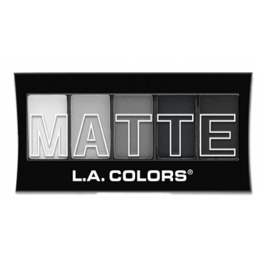 偽物に同意する著者(3 Pack) L.A. Colors Matte Eyeshadow - Black Lace (並行輸入品)