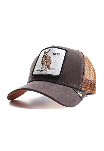 Goorin Bros. Trucker Cap ROO Braun, Size:ONE Size