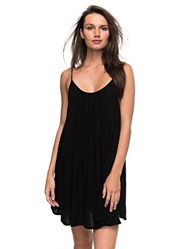 Roxy Damen Windy Fly Away J CVUP KVJ0 Cover-up, Anthracite - Solid, M
