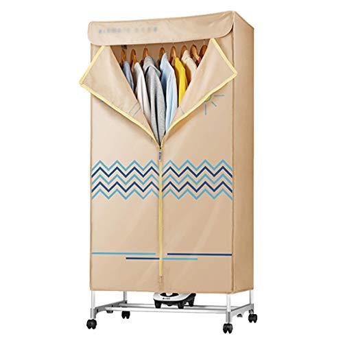Asciugatura macchina di famiglia Quick Dry Dryer con riscaldatore 1000W calda aria di convezione riscaldamento 180 minuti Tempo di asciugatura macchina for la famiglia o Dormitorio ( Color : Beige )