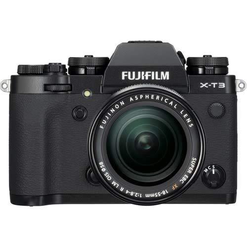 Fujifilm X-T3 Mirrorless Camera with 18-55mm Lens [Black] (Renewed)