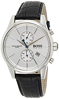 Hugo Boss Herren Chronograph Quarz Armbanduhr mit Lederarmband (B013PIDCU8) | Amazon price tracker / tracking, Amazon price history charts, Amazon price watches, Amazon price drop alerts