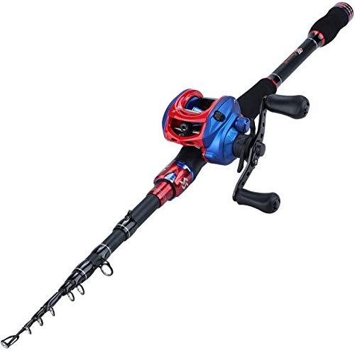 Sougayilang Fishing Rod and Reel Combo,Ultra Light...