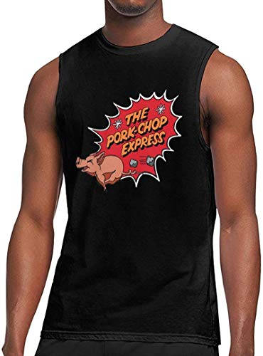 Big Trouble in Little China Inspired Pork Chop Express Summer Soft and Slightly Elastic Men's Sleeveless Shirt 1