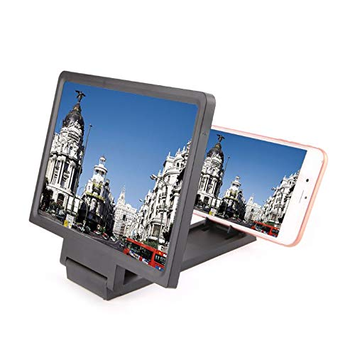 Lunch Box 3D Screen Magnifier, smartphone Vergrootglas HD Stand, Opvouwbare filmprojector voor iPhone Xs/XR/X/8/8 Plus/7/7 Plus/6S en Samsung Galaxy Note 6/5/4/3