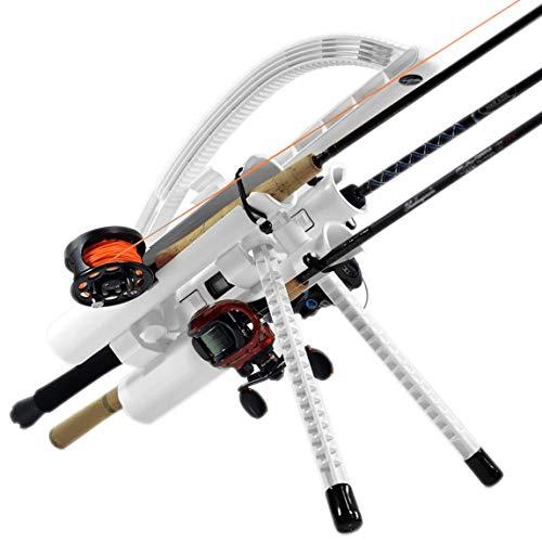 Rod-Runner Fishing Rod Rack - Express 3 Fishing Rod Carrier - White