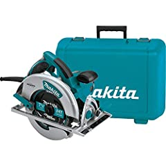 Magnesium components create a lightweight saw (10.6 pounds) that is well balanced and jobsite tough Powerful 15.0 AMP motor delivers 5,800 RPM for proven performance and jobsite durability Two built in L.E.D lights illuminate the line of cut for incr...