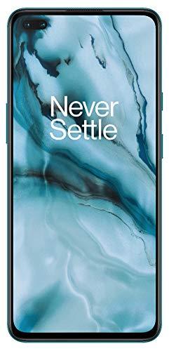 OnePlus NORD (5G) 8GB RAM 128GB Smartphone ohne Vertrag, Quad Kamera, Dual SIM. Jetzt mit Alexa Built-in - 2 Jahre Garantie - Blue Marble - 2