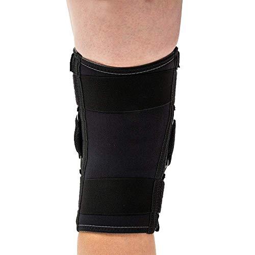 Mcdavid Unisex's Dual Disk Hinges Knee Brace, Black, Large