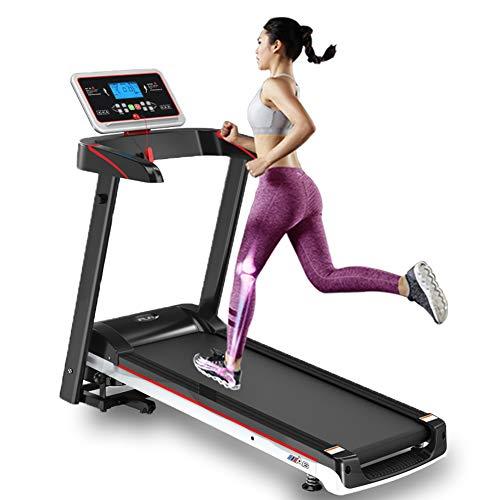 EléCtrico Caminadora,Cinta de Correr Plegable,Velocidad Ajustable Antideslizante,para El Hogar Y La Oficina Fitness Interior