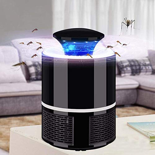 BNST Trap Mosquito Killer Machine for Home an Insect Killer Electric Mosquito Killer DeviceTrap Machine Eco-Friendly Baby Mosquito Repellent Lamp (Black)