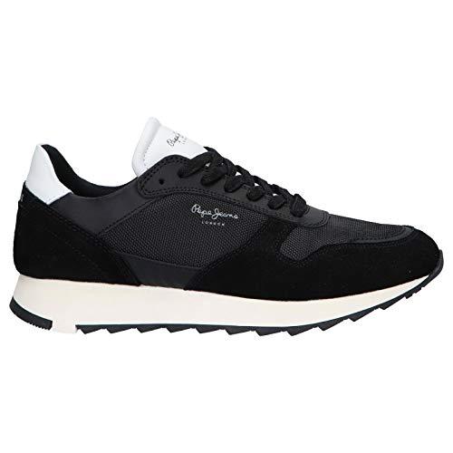 Pepe Jeans Zapatillas Deporte Pms30611 Slab 999 Black 40 para Hombre