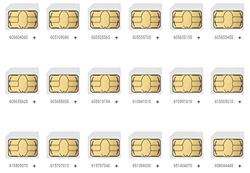 Tarjeta sim Hits Mobile numero telefono VIP 666555*** (Enviar Mensaje para consultar numeros Disponibles