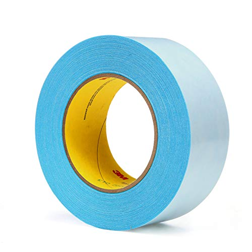 3M 17526-case Repulpable Double Coated Splicing Tape 9038B, 48 mm x 55 m, Blue (Pack of 24)