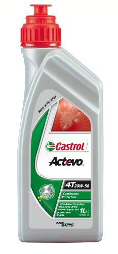 Castrol ActEvo Motorenöl 20W-50 4T 1L (englischsprachige Etiketten)