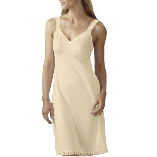 Shadowline Women's Daywear 24 Inch Full Slip 2701424 38 Ivory