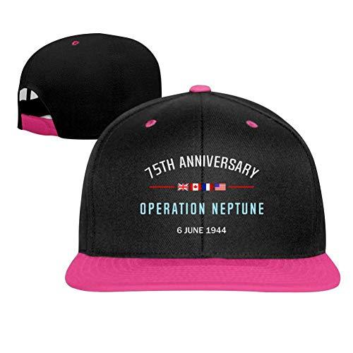 SuyuttiER Baseball Cap D Day Operation Neptune Adjustable Trucker Hat Dad Hat Pink