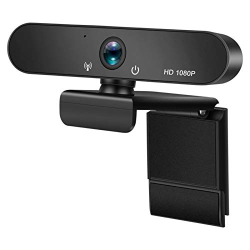 Webcam 1080p con Micrófono Cámara USB para PC/Mac Laptop Desktop Videollamada Auto Focus Lens Construidos En Omnidireccional LQWT (Color : 1080p)