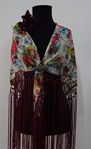 Flecos para mantoncillos de flamenca 💛