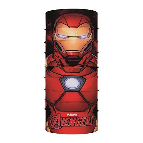 Buff Iron Man Tour de Cou Original Super Heroes Jr Mixte Enfant, Rouge, FR Unique Fabricant : Taille One sizeque