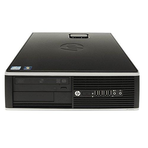 HP Elite 8200 Sff - Ordenador de sobremesa (Intel Core I5-2400 Quad Core, 8GB RAM,HDD de 250 Gb, DVD, COA WINDOWS 10 Home Original) Negro (Reacondicionado)