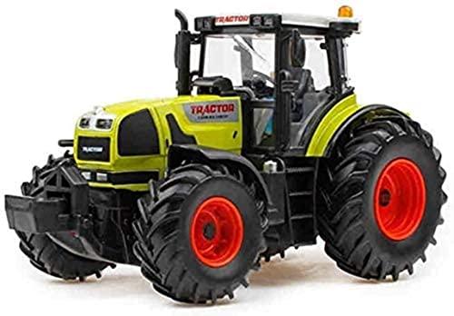 Aleación de Tractor eléctrico Granja Especial de Coche Modelo Agricultor Trabajo automóvil...